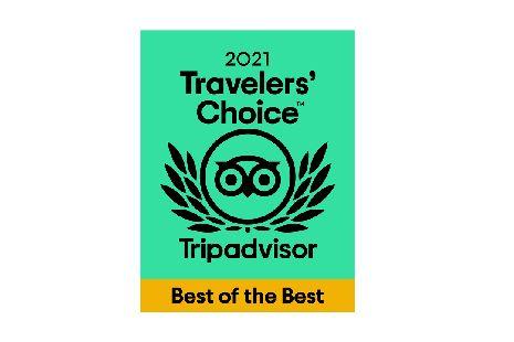TripAdvisor Best of the Best 2021